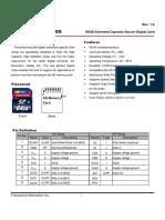 Datasheet Cmp Sdxc10 64g