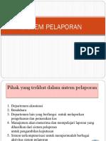 Materi 9 - Sistem Pelaporan