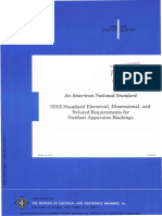 IEEE Standard Electrical, Dimensional, And Related Requirements for Outdoor Apparatus Bushings
