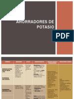 AHORRADORES DE POTASIO