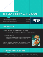 [GED 101] Group 1 - The Self, Society, And Culture (1)