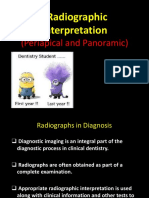 Lecture 14 a Radiographic Interpretation
