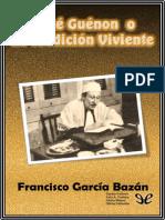 AA. VV. - Rene Guenon o la Tradicion Viviente [43861] (r1.0).epub
