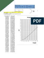 Cylindrical Horizontal Tank Volume Calculation
