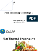 Non Thermal Preservative