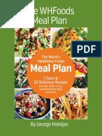 Whf Meal Plan