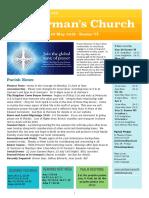 st germans newsletter - 26 may 2019 -  easter vi