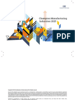 CII Champion Manufacturing Industries 2025