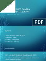 Surveillance Camera Fundamental (DRAFT)