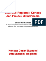 Ekonomi Regional Di Indonesia ITS 27 September 2018