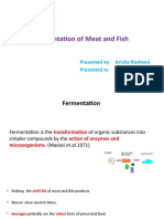 Fermentation of Meat and Fish