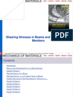 5 Shearing Stresses-Part A