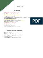 Bibliografie Pentru Clasa a XI-A