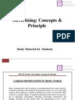 501-Advertising Concept Principle