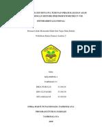 Analisis Kuantitatif Senyawa Turunan Pirazolam Dan Asam Barbiturat Dengan Metode Spektrofotometri Uv