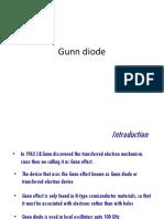 2. Gunn Diode