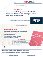 China's Disruptors (Ed Tse) 10-18-2016
