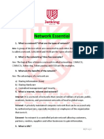 Network Essential Interview Questions