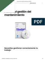 La Aplicación Para La Gestión Del Mantenimiento FidesGeM