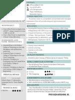 Blue Creative Resume(3)