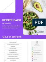 Recipe Pack 002