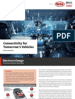 Connectivity for Tomorrow's Vehicles