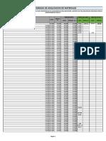 Cronograma de Adq. de Mat. PALLANCHACRA