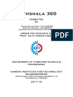 Project Report Frontpage