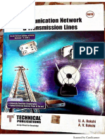 Communication network & transmission lines