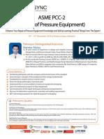 PetroSync - ASME PCC 2 - Pressure of Equipment 2018