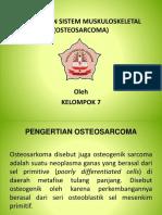 Ppt Osteosarkoma Kelompok 7