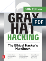 Gray Hat Hacking the Ethical Hackers Handbook Fifth 5th Edition