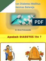 Penyuluhan Diabetes Alrein
