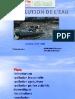 La Pollution de l'Eau Fina Exposé(0) - Copie