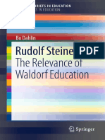 [SpringerBriefs in Education] Bo Dahlin (Auth.) - Rudolf Steiner_ the Relevance of Waldorf Education (2017, Springer International Publishing)