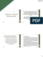 Balance de Paiement Isga 2019 Derniere Edition