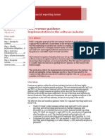 In Depth IFRS 15 Industry Supplement – Software