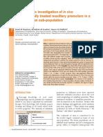 Radiographic investigation of in vivo endodontically treated maxillary premolars in a Saudi Arabian sub-population.pdf