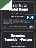 Senate Quick Facts