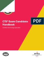 Cert Handbook Cts-Avixa