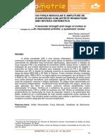 Artigo sobre avaliação e diagnostico funcional