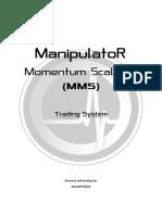 Manipulator Momentum Scalping