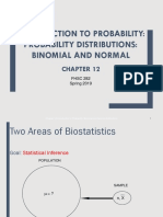 Introduction to Probability_binomial and Normal Distributions