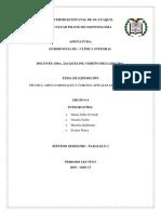 Endodoncia Grupo 4 Técnicas Modificadas de Instrumentación