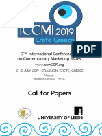 Iccmi 2019 Call