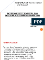 Impressions in Implants