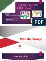 Plan Anual de Trabajo Institucional Xd