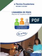 Tecnicas Ecuatorianas Camarera de Pisos