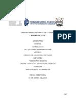 Reporte de Unidad 1 (QUIMICA).