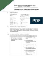 SILABO DE ORGANIZACION DE OFICINA.docx